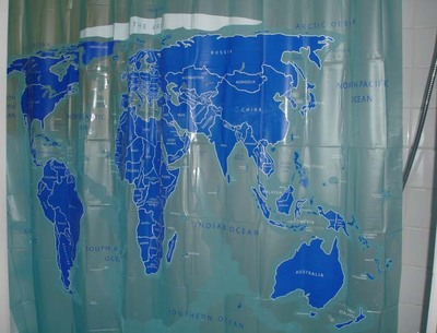 world-map-shower-curtain